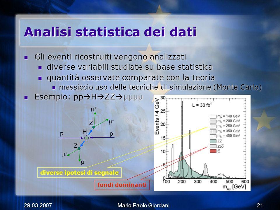 Analisi statistica dei dati