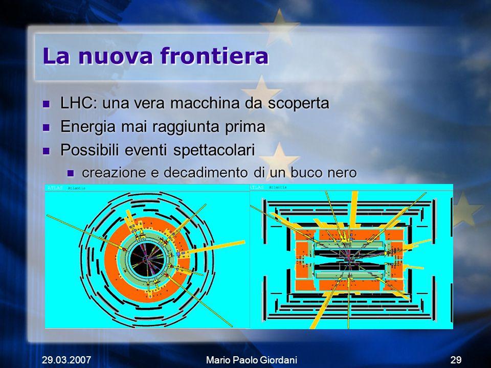 La nuova frontiera LHC: una vera macchina da scoperta