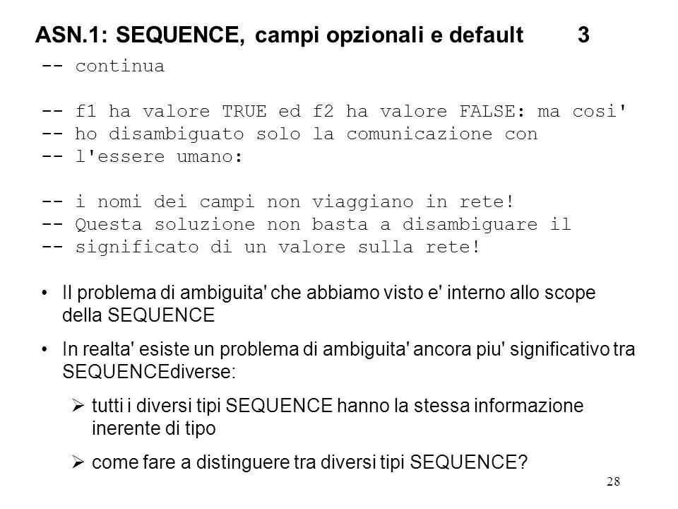 ASN.1: SEQUENCE, campi opzionali e default 3