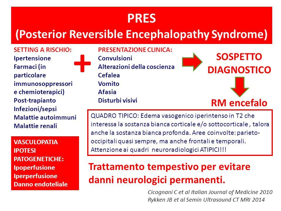 PRES (Posterior Reversible Encephalopathy Syndrome)