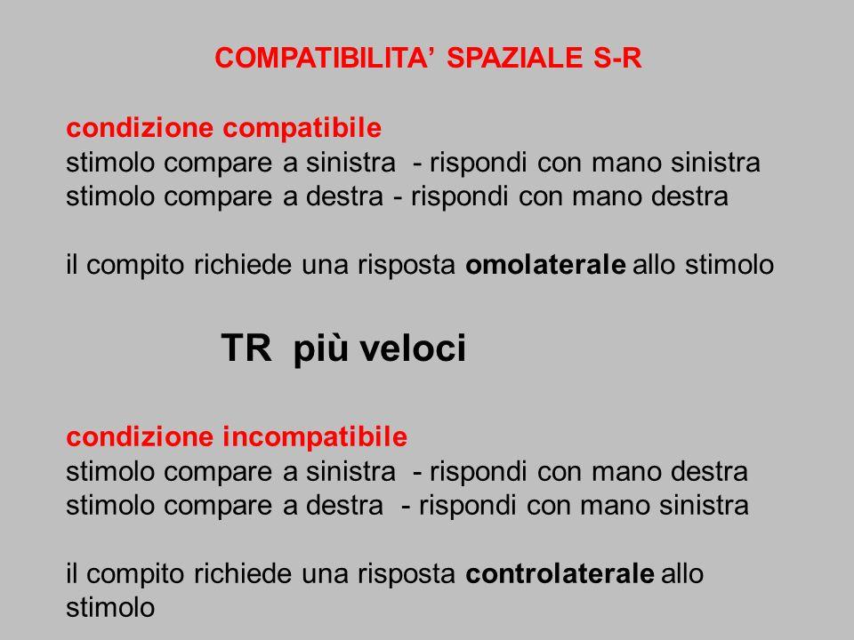 COMPATIBILITA' SPAZIALE S-R