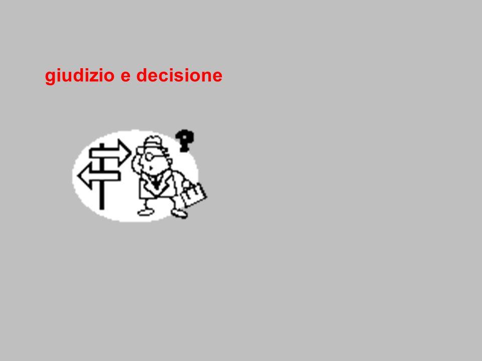 giudizio e decisione