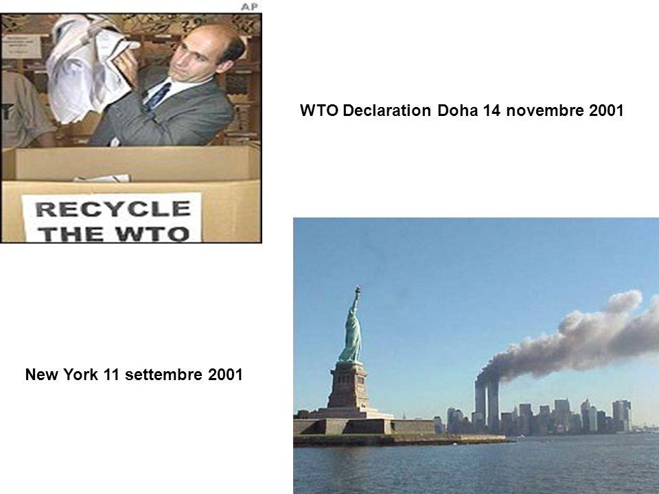 WTO Declaration Doha 14 novembre 2001