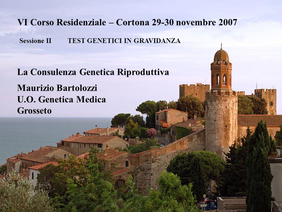 VI Corso Residenziale – Cortona 29-30 novembre 2007