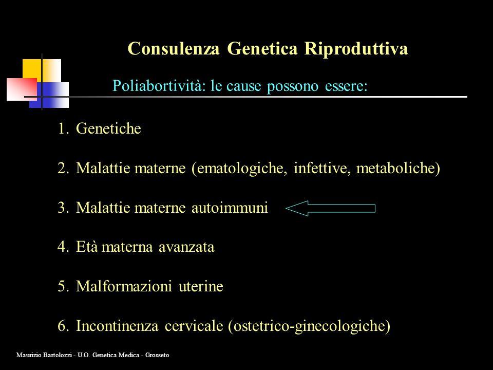 Consulenza Genetica Riproduttiva