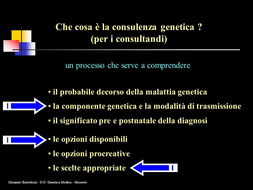 Che cosa è la consulenza genetica