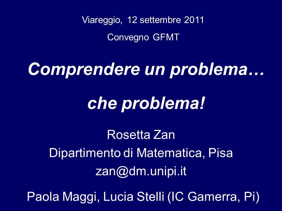 Rosetta Zan Dipartimento di Matematica, Pisa zan@dm.unipi.it