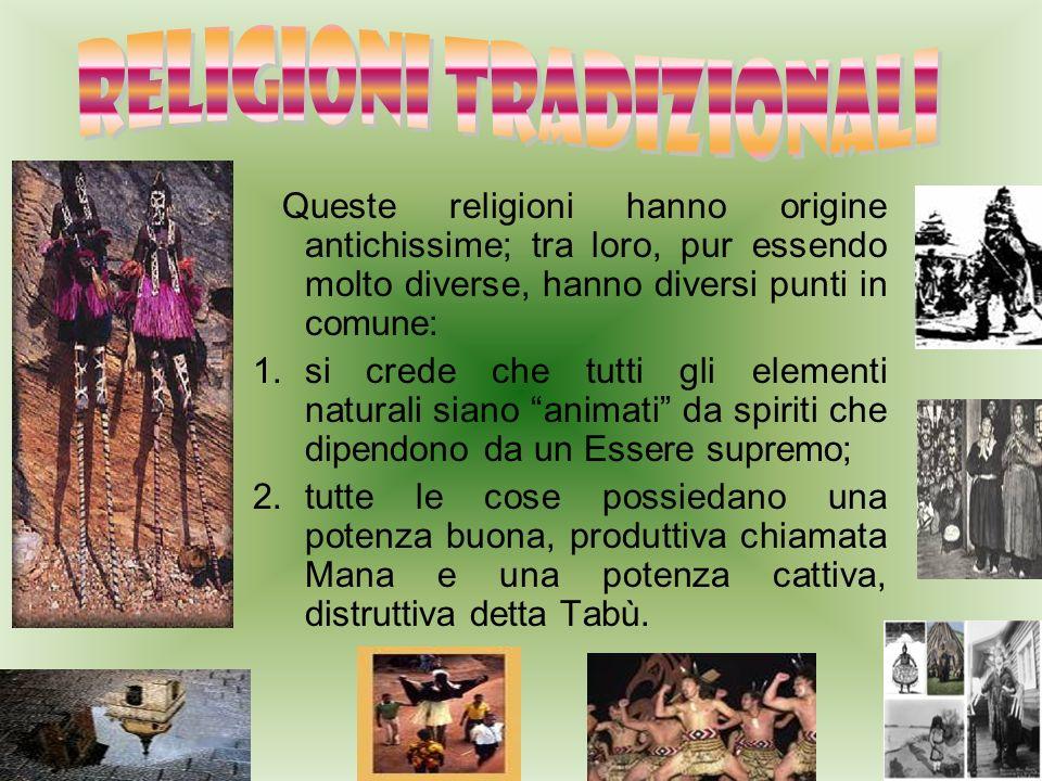 RELIGIONI TRADIZIONALI