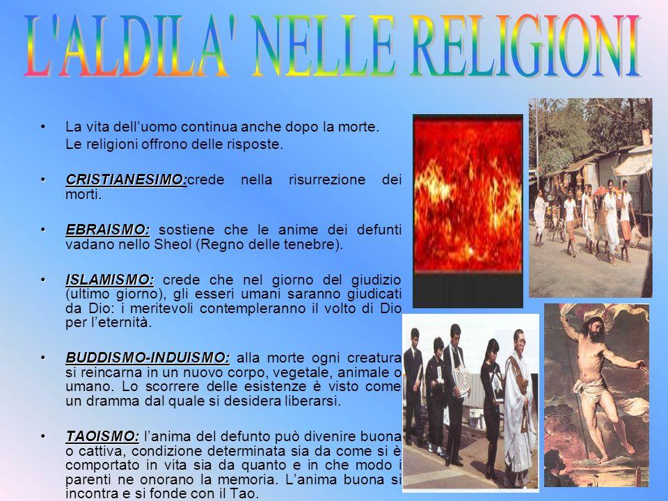 L ALDILA NELLE RELIGIONI