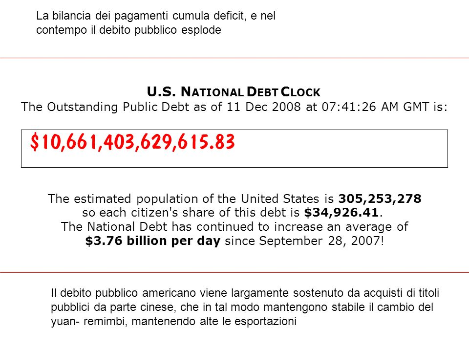 The Outstanding Public Debt as of 11 Dec 2008 at 07:41:26 AM GMT is: