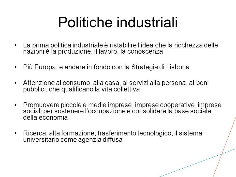 Politiche industriali