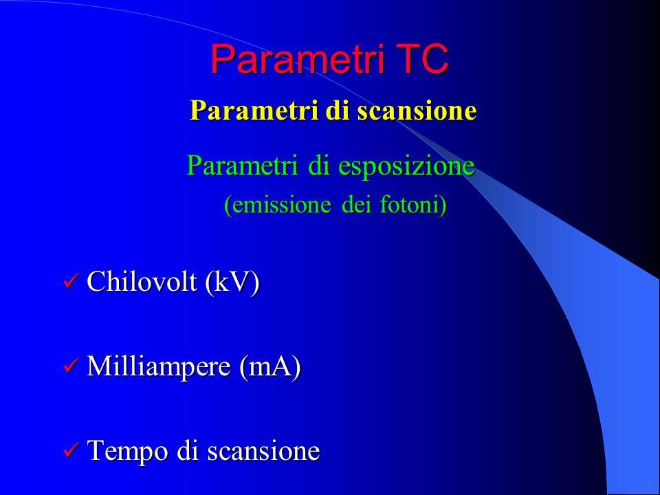 Parametri di scansione