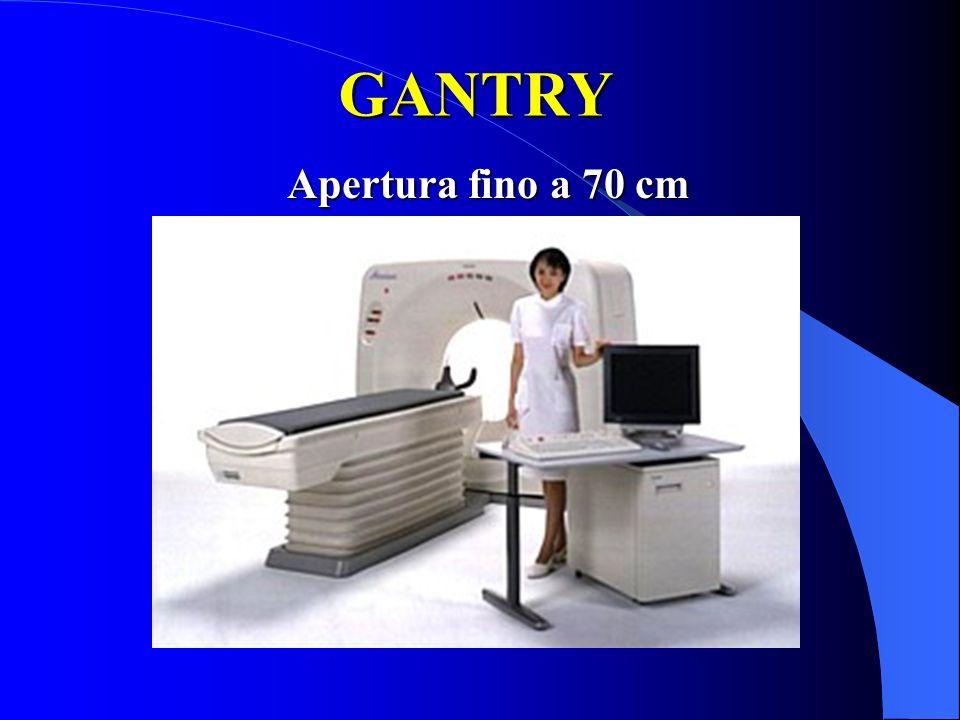 GANTRY Apertura fino a 70 cm