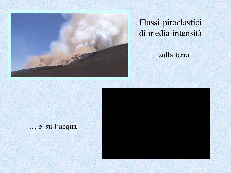 Flussi piroclastici di media intensità