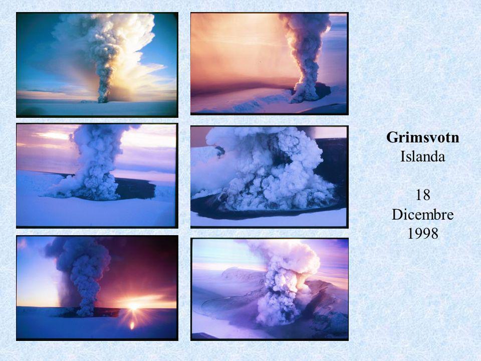 Grimsvotn Islanda 18 Dicembre 1998