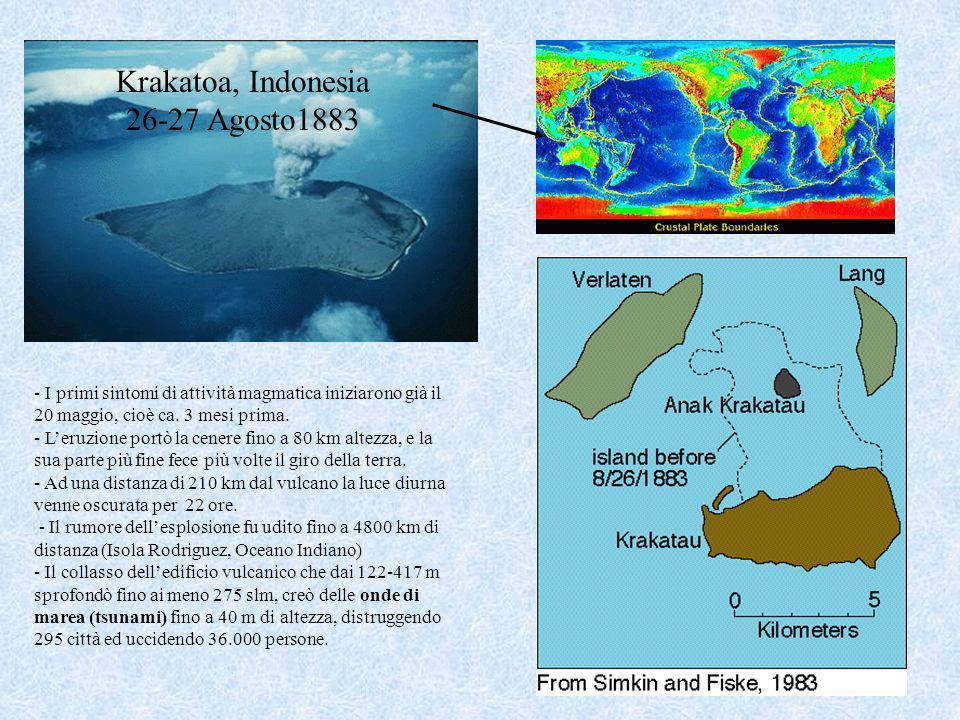 Krakatoa, Indonesia 26-27 Agosto1883