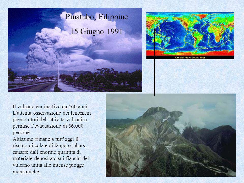 Pinatubo, Filippine 15 Giugno 1991