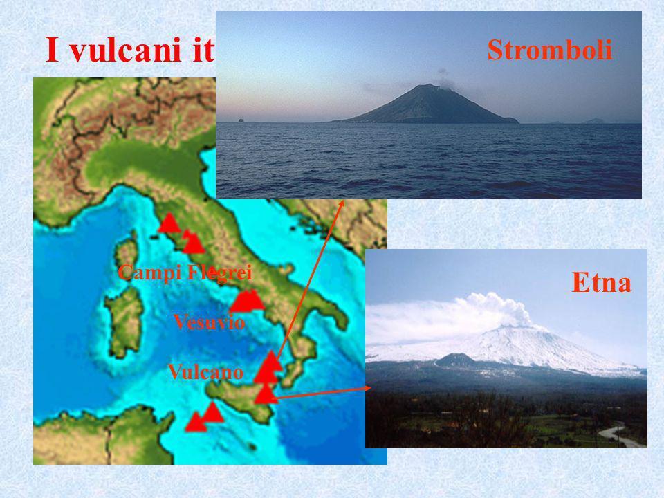 Stromboli I vulcani italiani Vulcano Vesuvio Campi Flegrei Etna