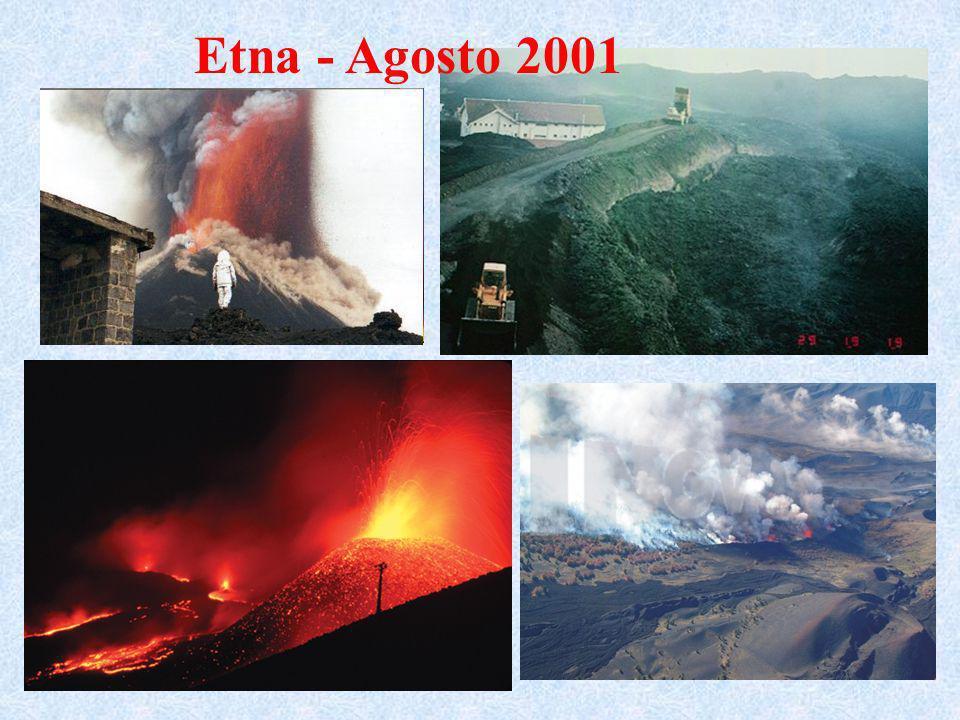 Etna - Agosto 2001