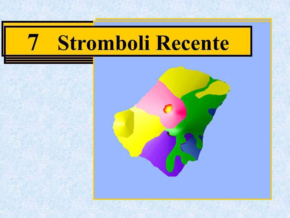2 Paleostromboli I 6 Neostromboli 7 Stromboli Recente