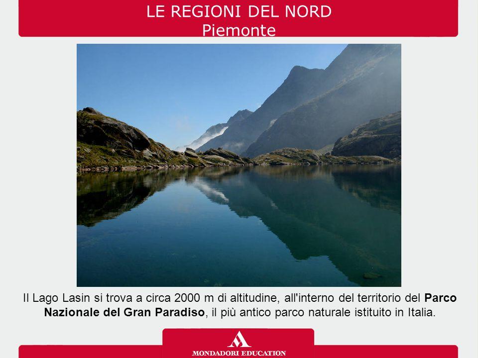 LE REGIONI DEL NORD Piemonte
