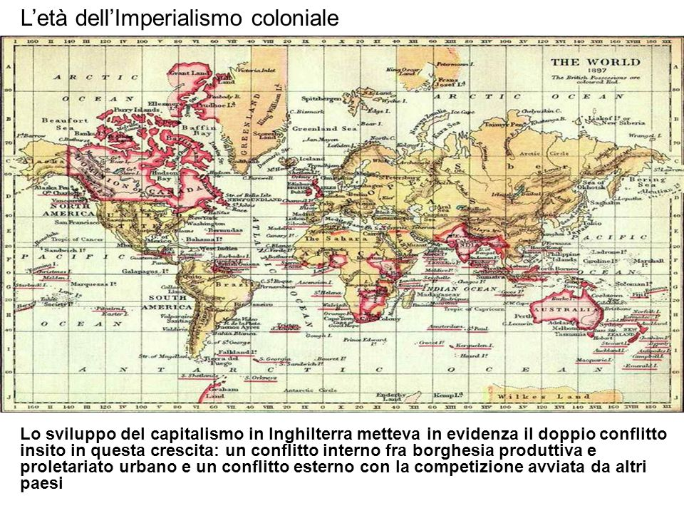 L'età dell'Imperialismo coloniale