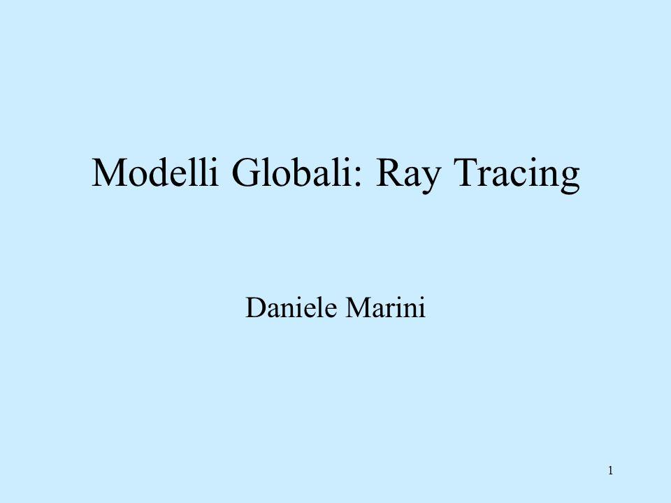 Modelli Globali: Ray Tracing