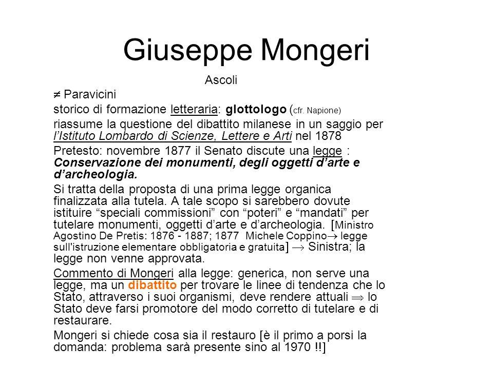Giuseppe Mongeri Ascoli  Paravicini