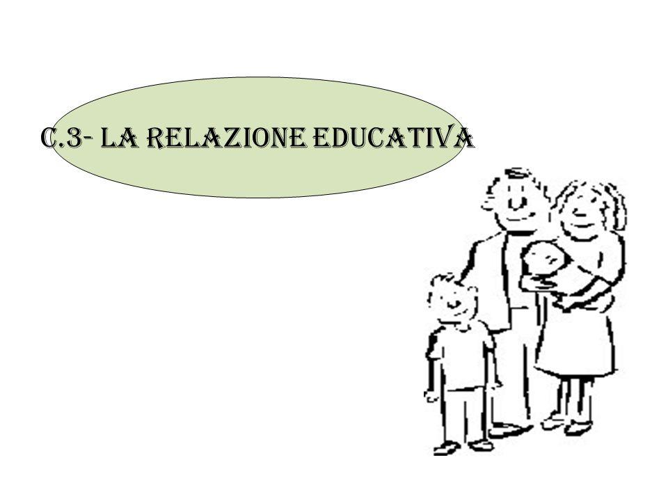C.3- la relazione educativa