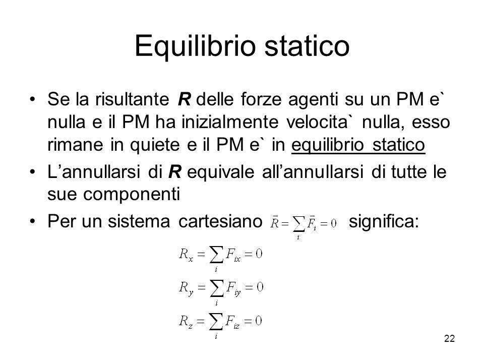 Equilibrio statico