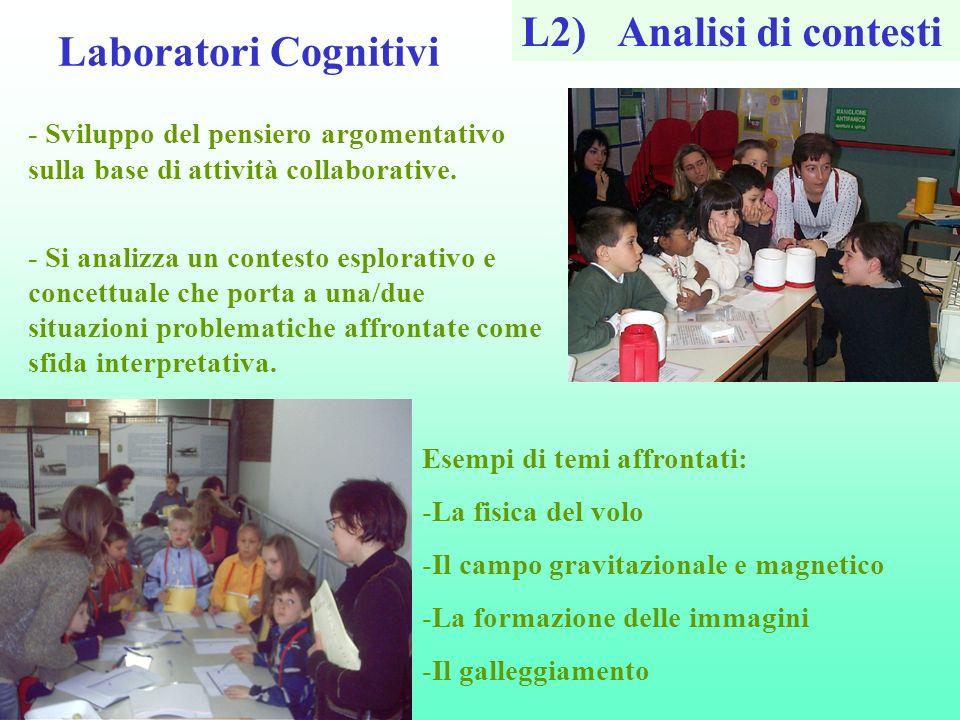 L2) Analisi di contesti Laboratori Cognitivi
