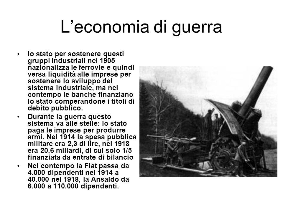 L'economia di guerra
