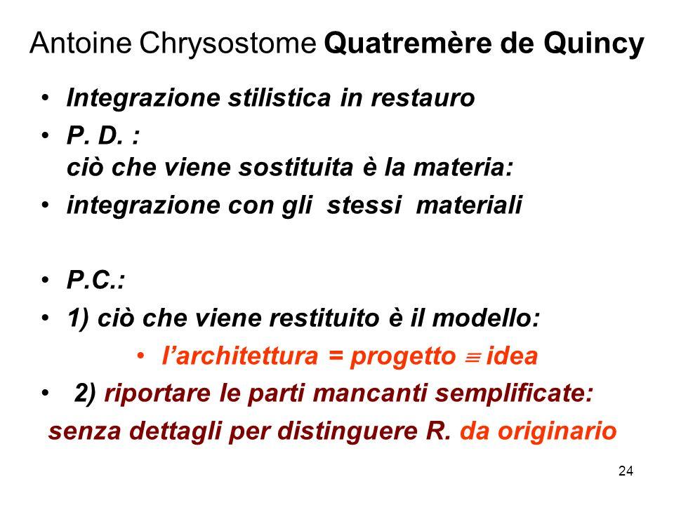 Antoine Chrysostome Quatremère de Quincy