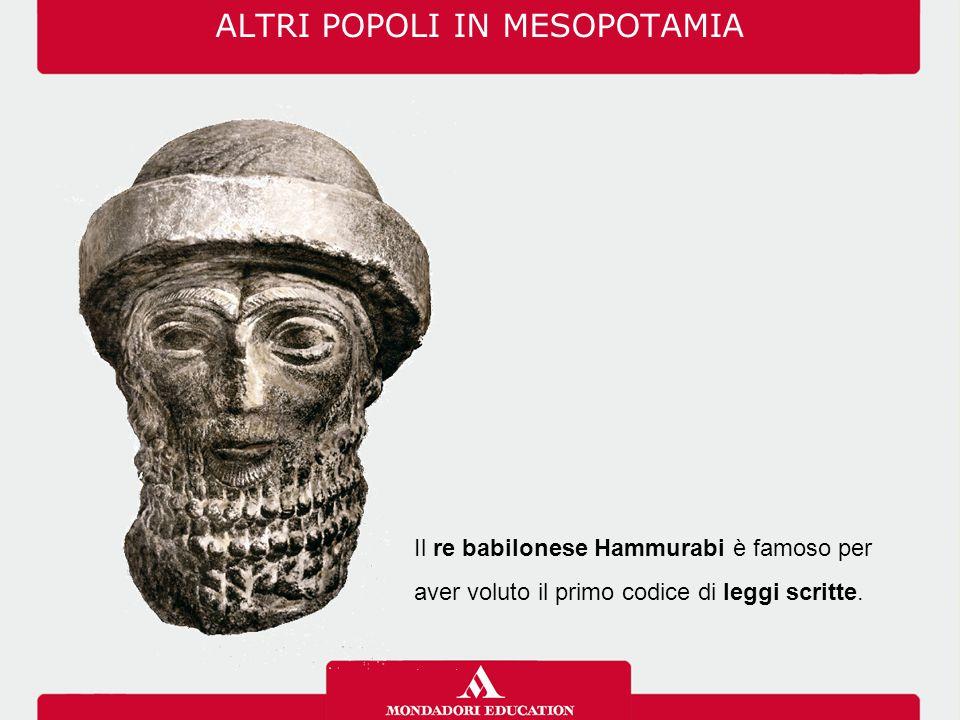 ALTRI POPOLI IN MESOPOTAMIA