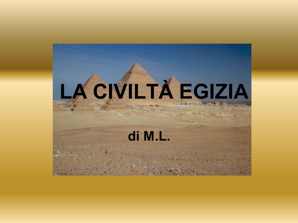 LA CIVILTÀ EGIZIA di M.L.