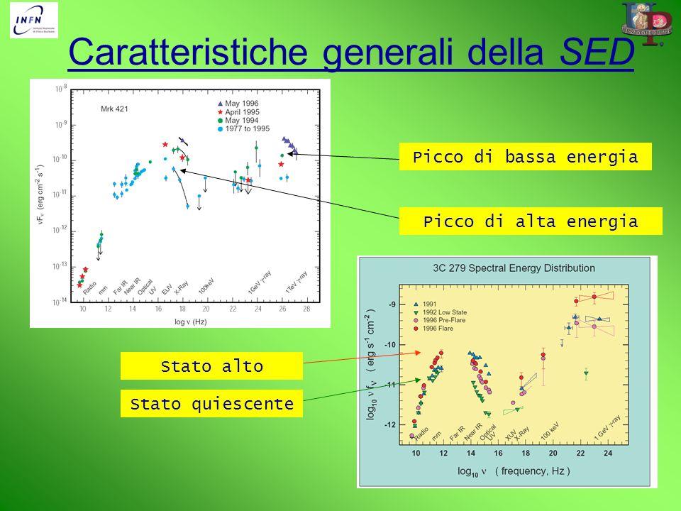 Caratteristiche generali della SED