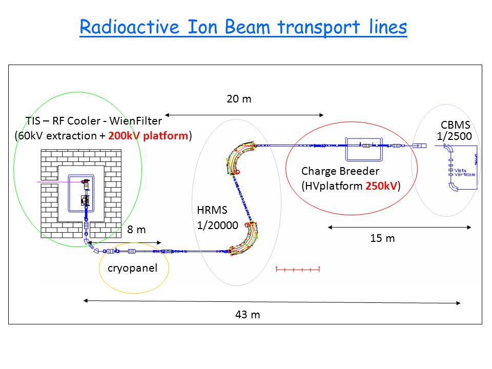 Radioactive Ion Beam transport lines