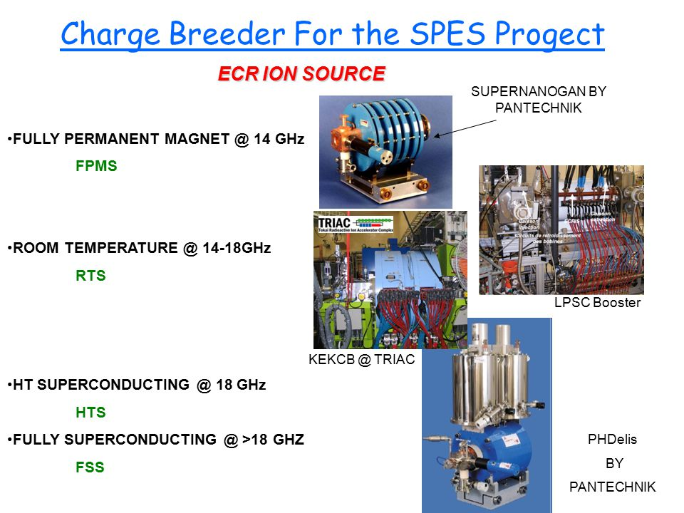Charge Breeder For the SPES Progect
