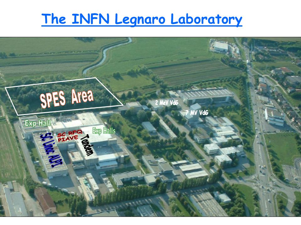 The INFN Legnaro Laboratory