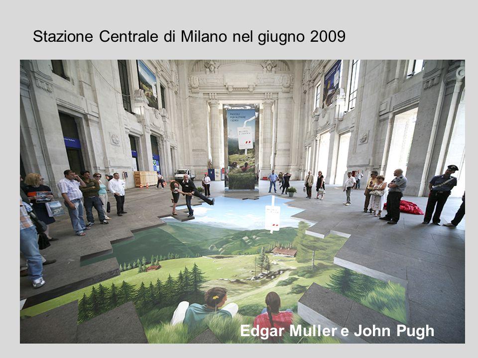 Stazione Centrale di Milano nel giugno 2009