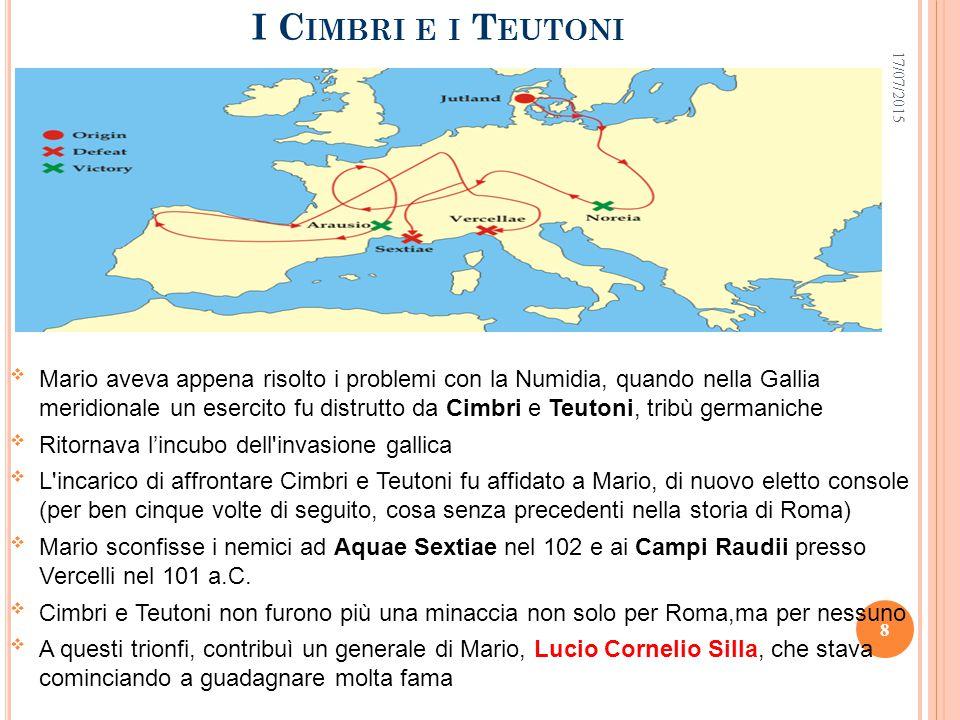 I Cimbri e i Teutoni 18/04/2017.