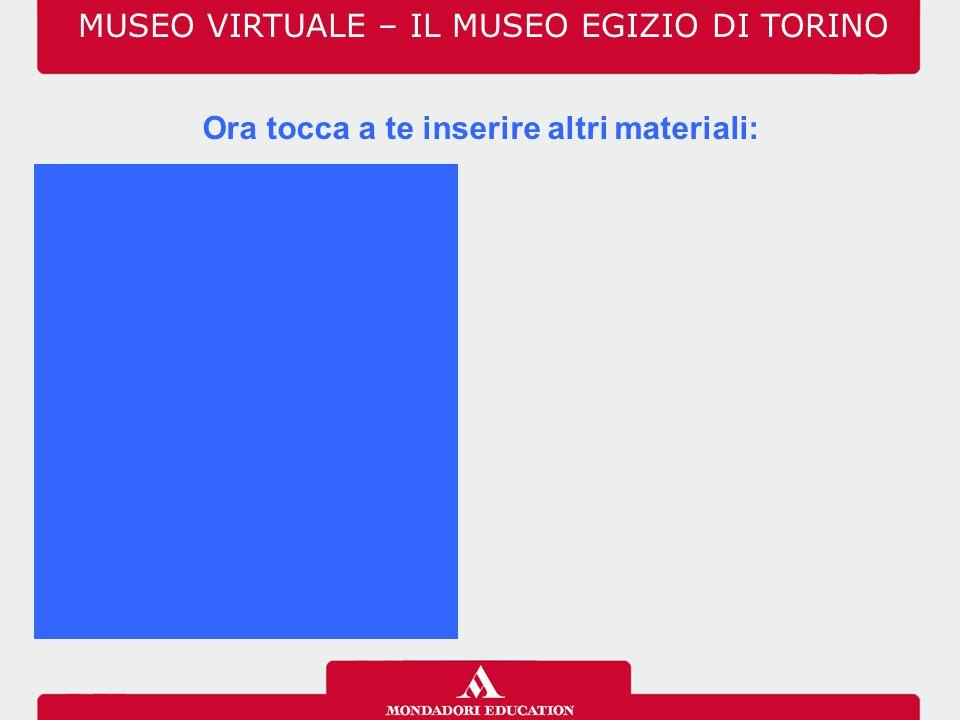 MUSEO VIRTUALE – IL MUSEO EGIZIO DI TORINO