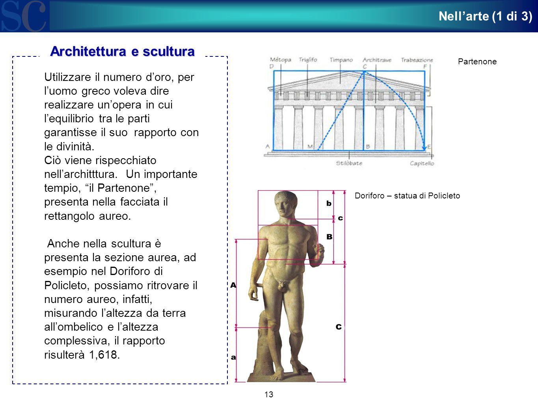Architettura e scultura