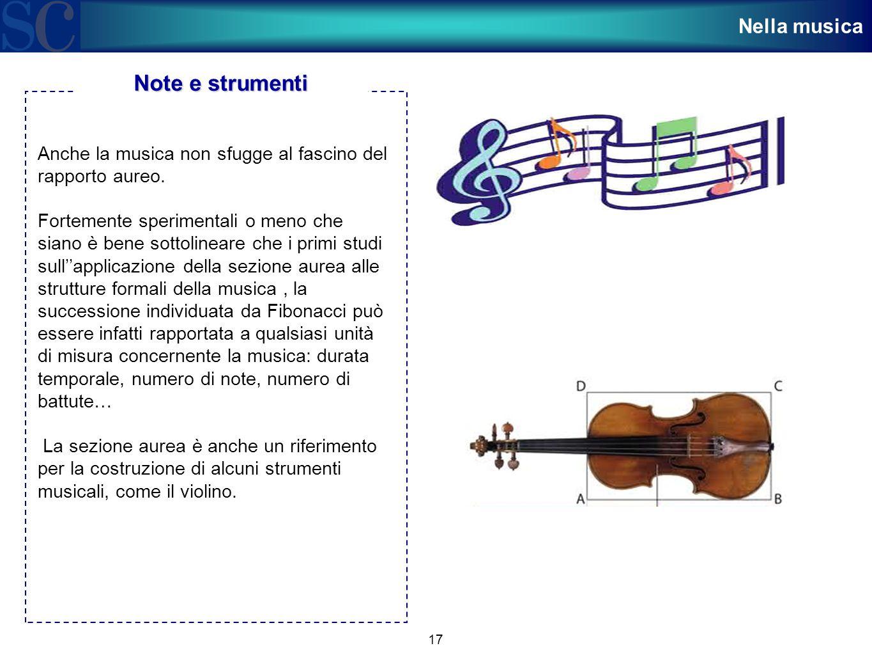 Note e strumenti Nella musica