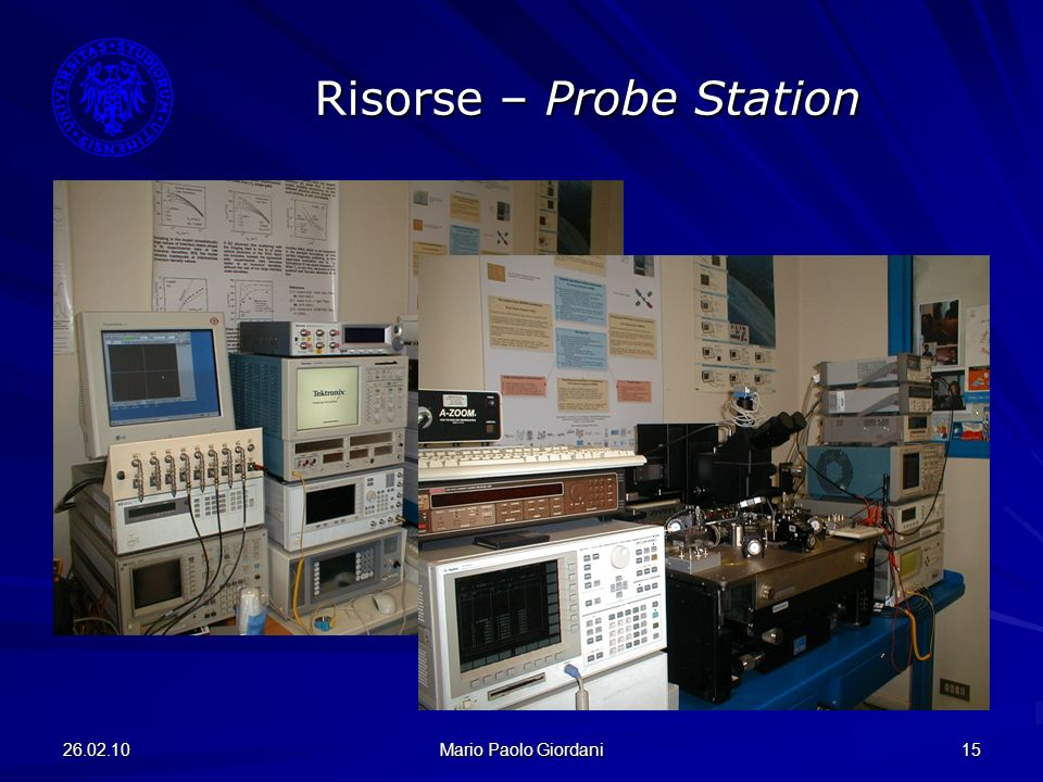 Risorse – Probe Station