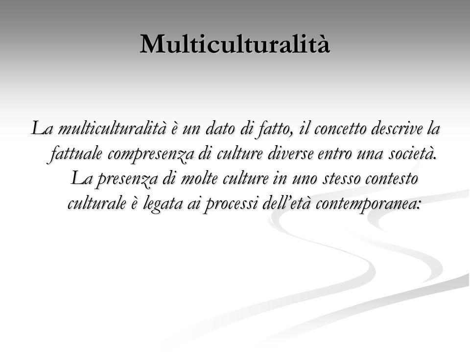Multiculturalità