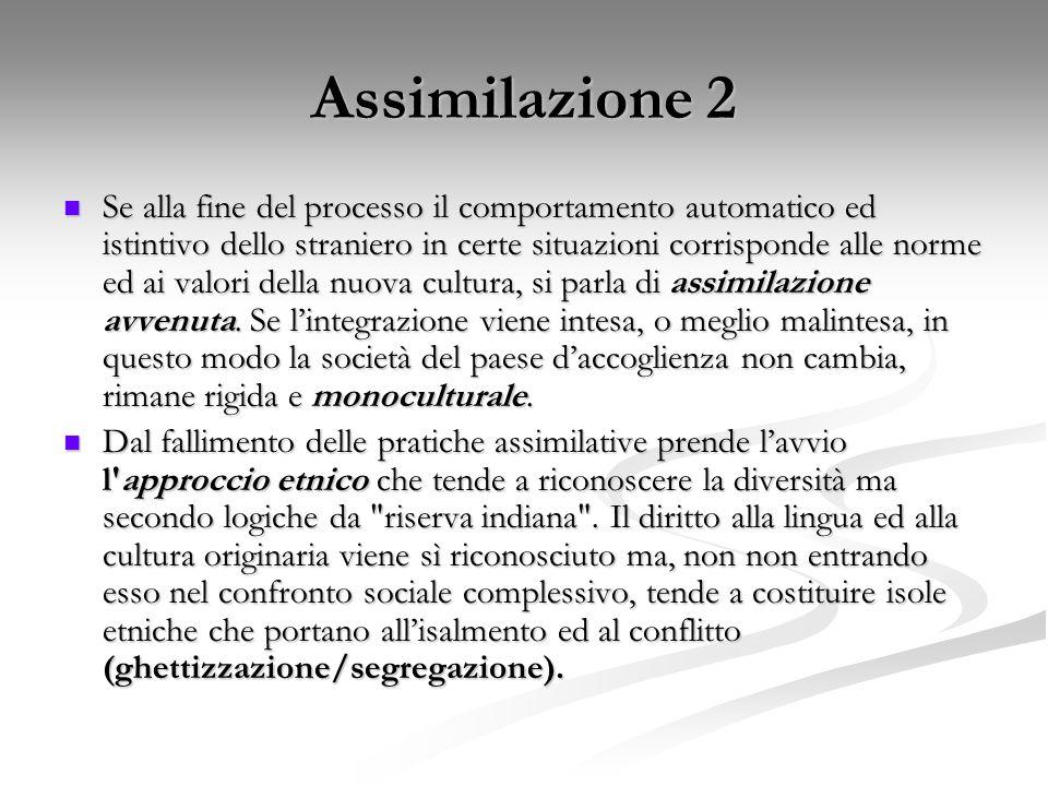 Assimilazione 2