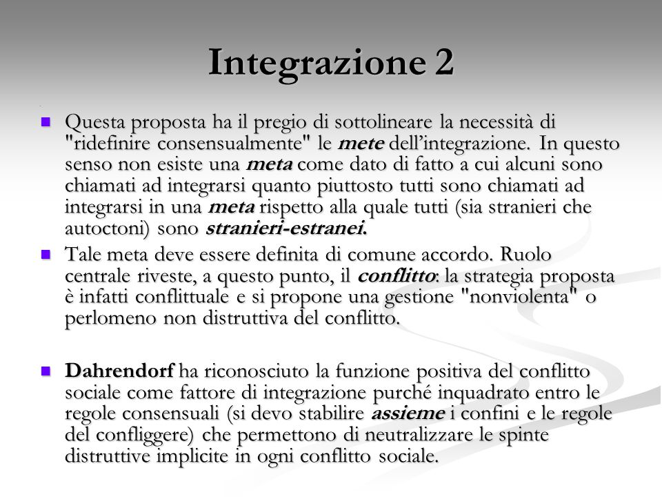 Integrazione 2 e.