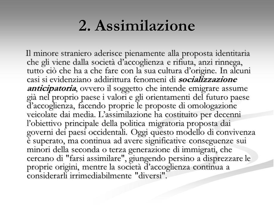 2. Assimilazione