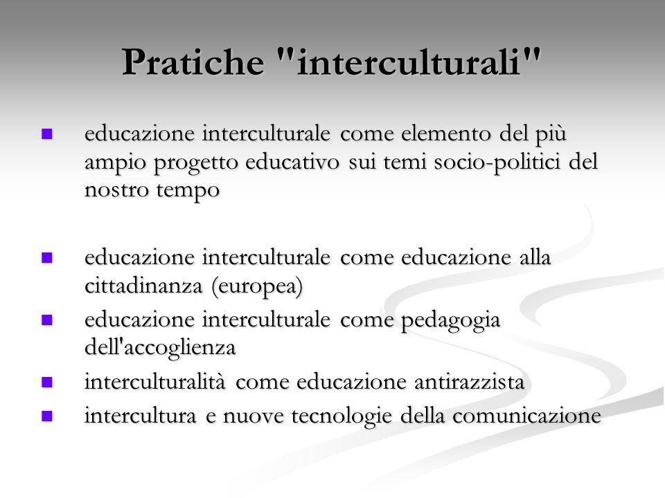 Pratiche interculturali